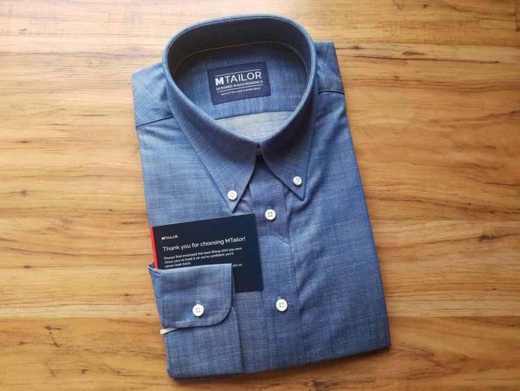 MTailor Custom Shirt Unboxed   GENTLEMAN WITHIN