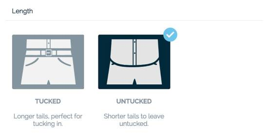 MTailor Shirt Length Customization Options   GENTLEMAN WITHIN