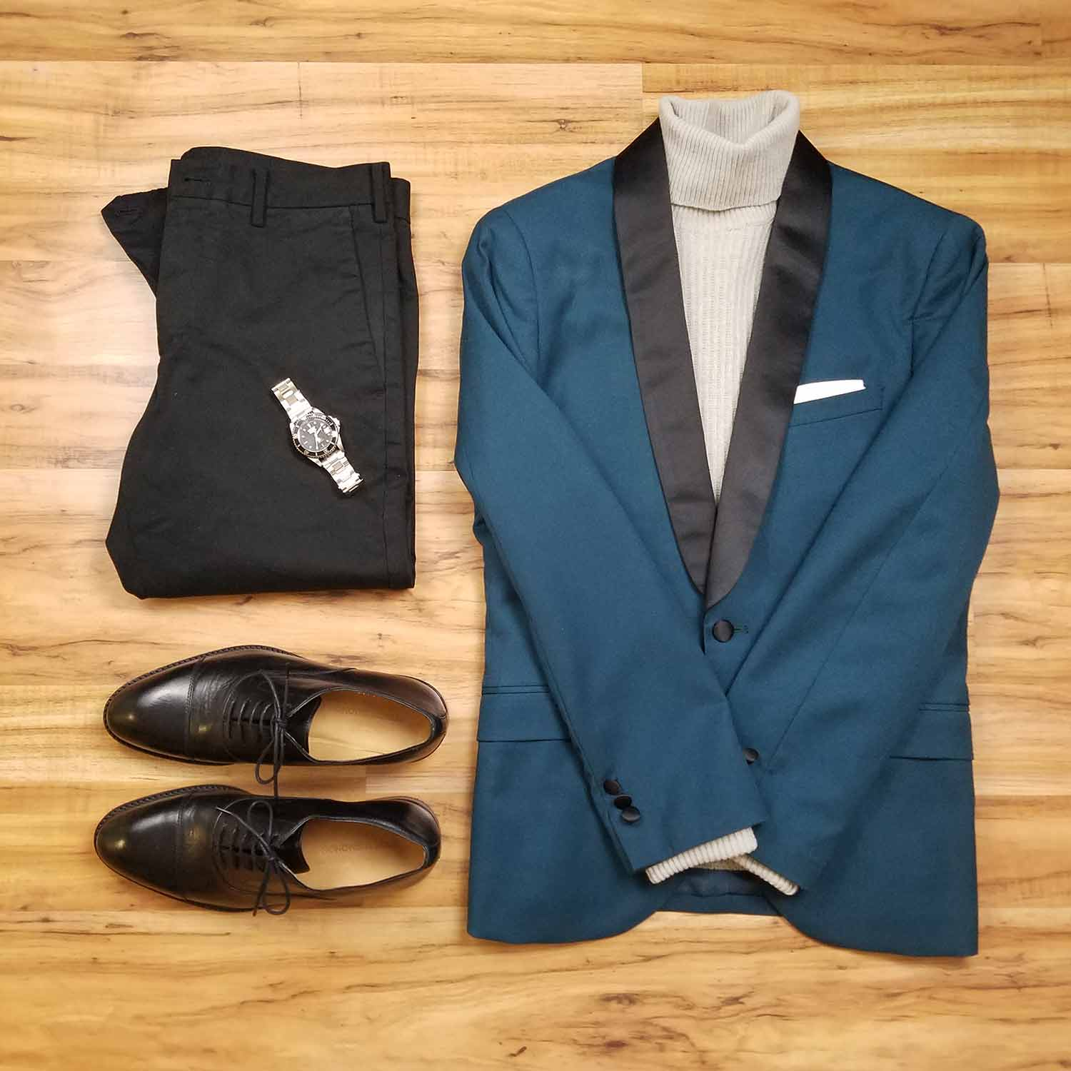 Stay Elevated Flatlay | GENTLEMAN WITHIN