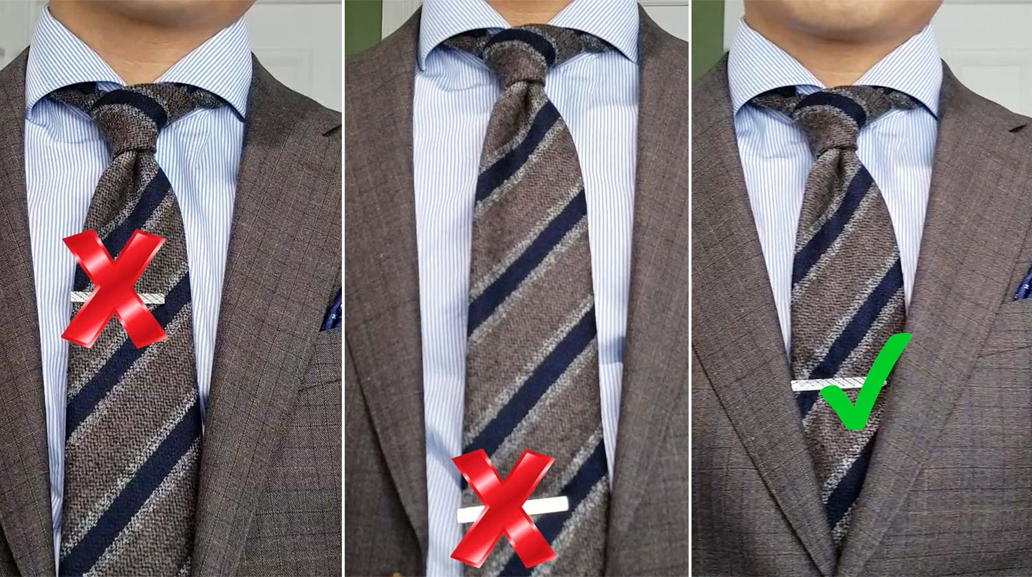 Tie Bar Rule 2: The Sweet Spot | GENTLEMAN WITHIN