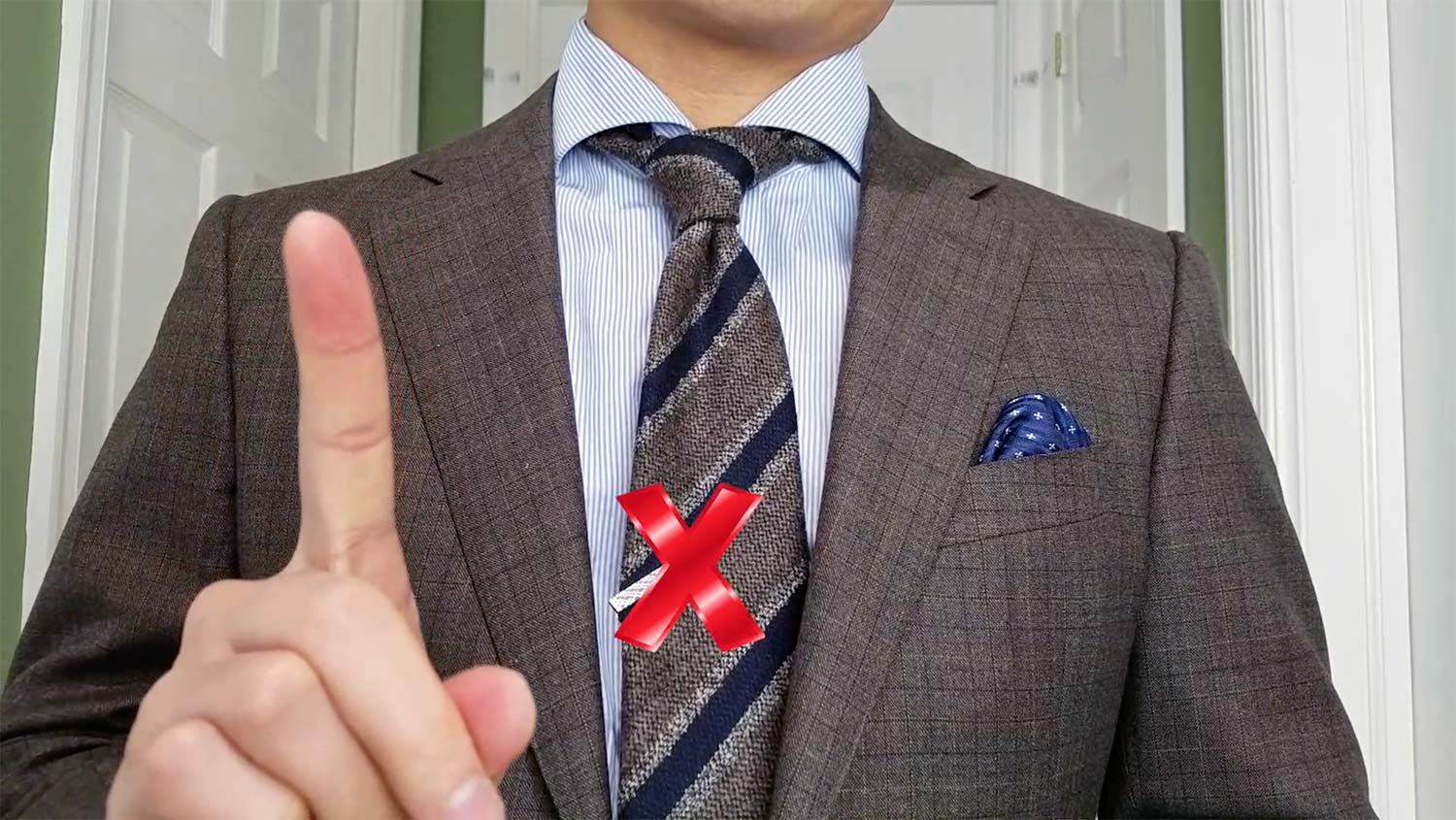 Tie Bar Rule 3: Just Dont Do It | GENTLEMAN WITHIN