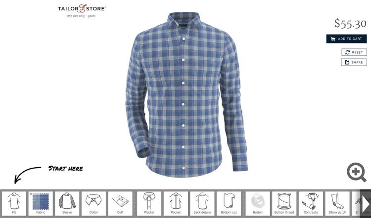 Tailor Store Shirt Customizations | GENTLEMAN WITHIN