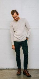 Corduroy Pants Look 1
