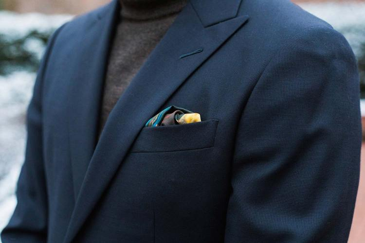 Rampley And Co Pocket Square Details 1   GENTLEMAN WITHIN