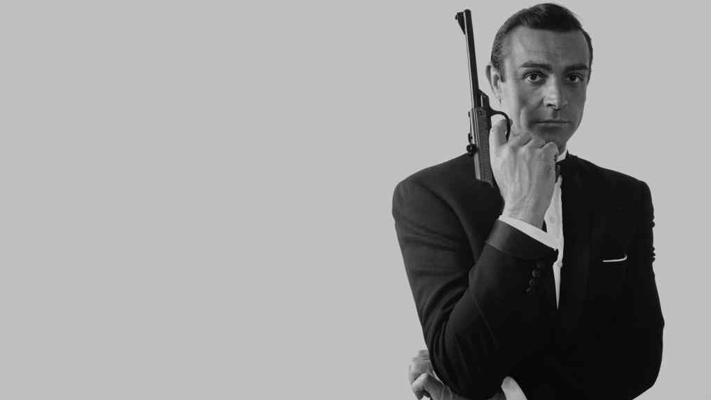 Sean Connery in James Bond with a sidepart