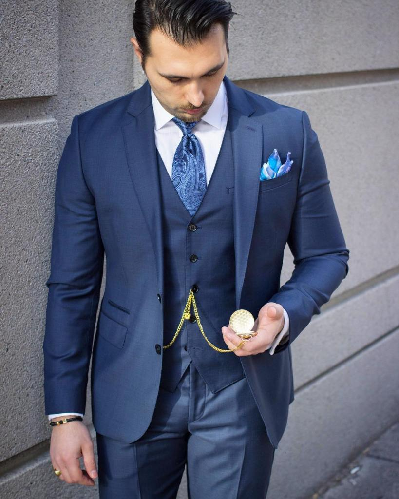 Triple layered suit by Danesh