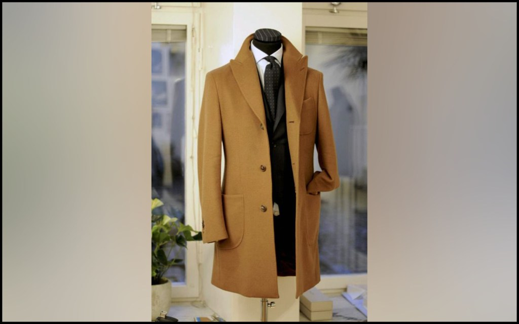 A timeless classic coat is perfect for any man.