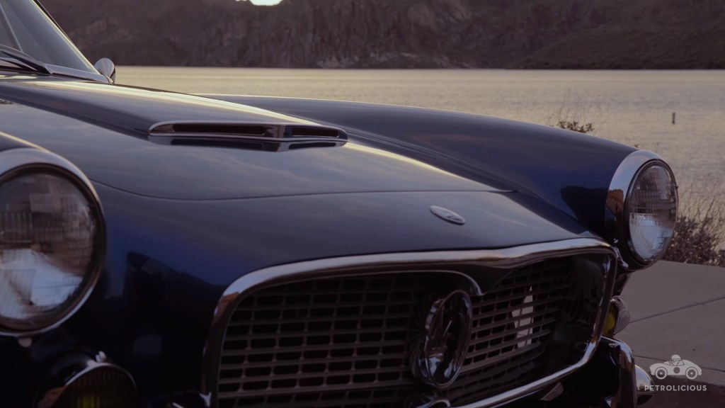 Fron side of The Maserati 3500 GT