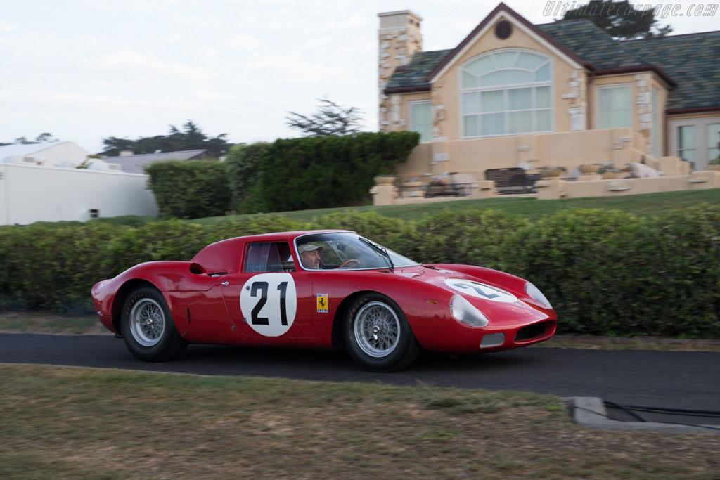 Side view of Ferrari LM 250