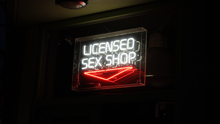 Spice things up with sex toys.