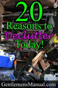 20 Reasons to Declutter Your Life Today