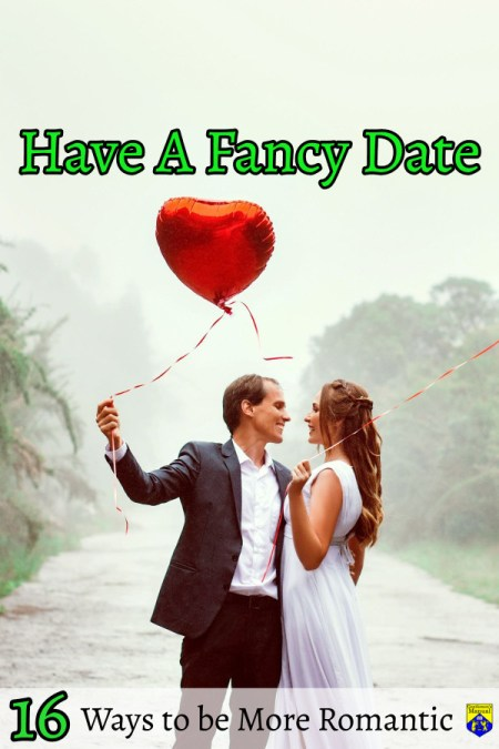 Tips on Being a More Romantic Man