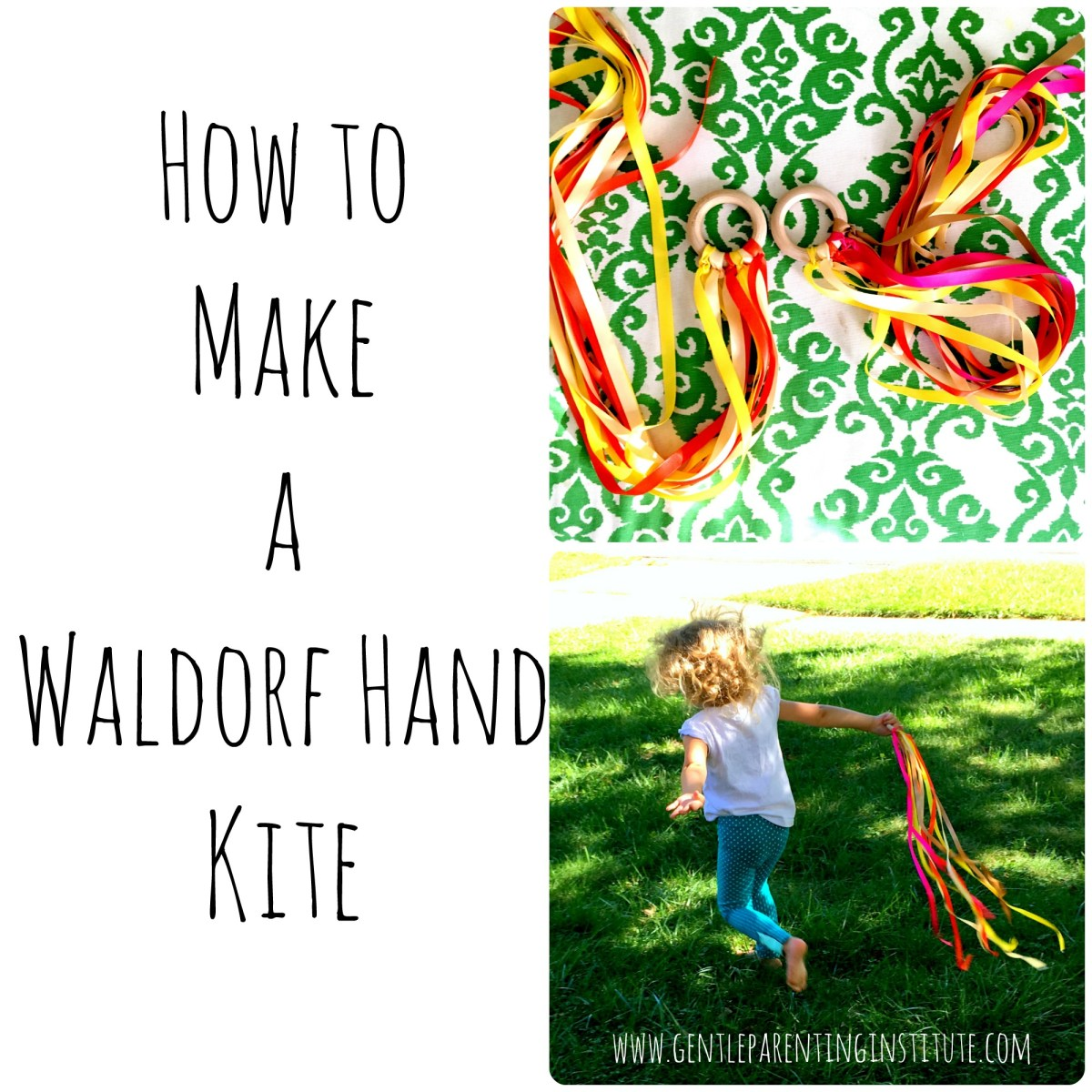 How to Make a Waldorf Hand Kite