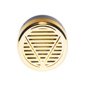 Humidifier – Round Plastic Gold Finish