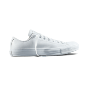 Converse Chuck Taylor All Star Lo Leather – Mono White