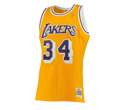 1bb619a7 Mitchell & Ness | Los Angeles Lakers | Shaquille O'Neal | 1996-97 ...