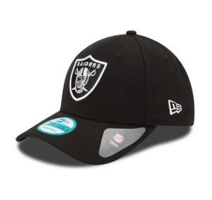 Oakland Raiders New Era Black The League 9FORTY Adjustable Hat