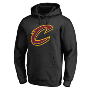 Cleveland Cavaliers Fanatics Branded Black Secondary Logo Pullover Hoodie