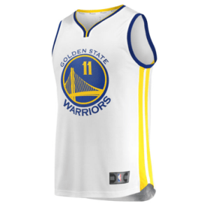 Golden State Warriors Klay Thompson Fanatics Branded White Fast Break Replica Jersey – Statement Edition