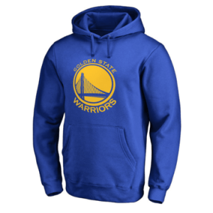Golden State Warriors Royal Primary Logo Pullover Hoodie