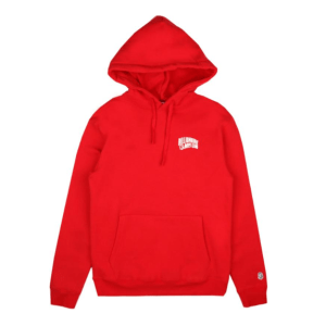 SMALL ARCH LOGO HOODY_RED