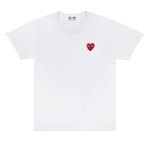 Red Play T-Shirt_White