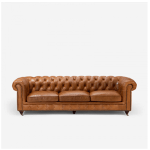 Jefferson Chesterfield Couch Tan