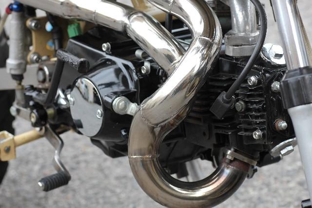 原付バイクのエンジン