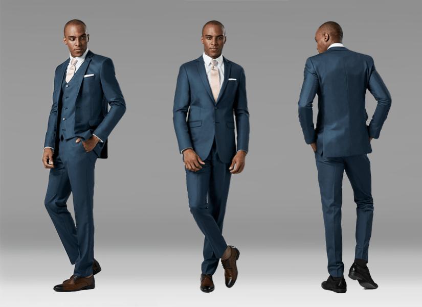 How a Blue Suit Should Fit