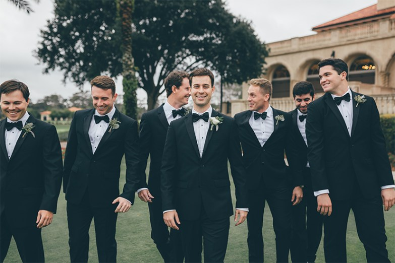 Group of Groomsmen in Generation Tux suits