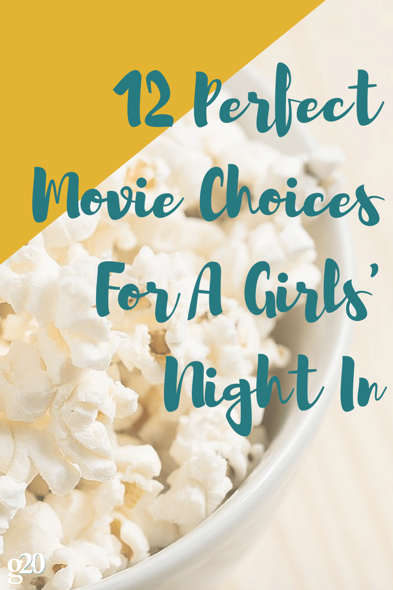 There's nothing better than hanging out with your best friends, drinking wine, eating popcorn, and watching a classic. Pin these for later!