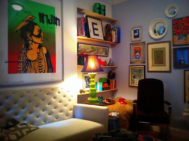 Easy apartment decor