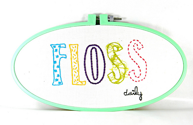 Floss daily