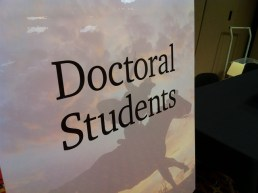 Inside the life of a doctoral student