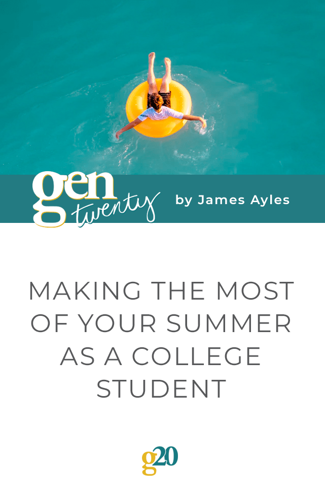Making the Most of Your Summer As a College Student