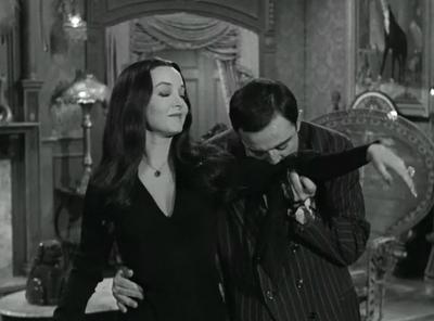 Morticia and Gomez Addams