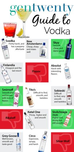 GenTwenty's Guide to Vodka