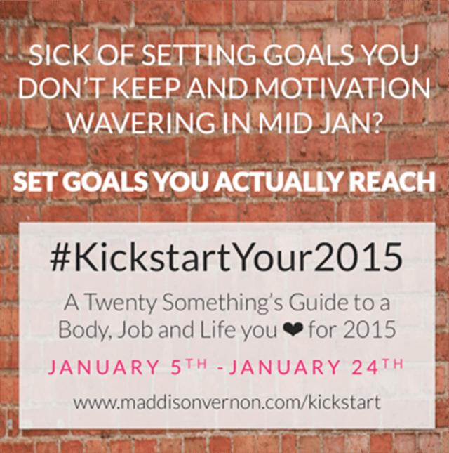 #KickStartYour2015
