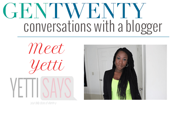 Conversations With a Blogger - Yetti Says