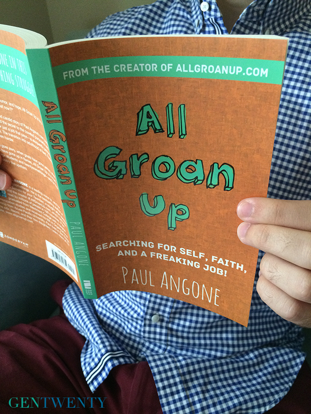 Book Review: All Groan Up by Paul Angone