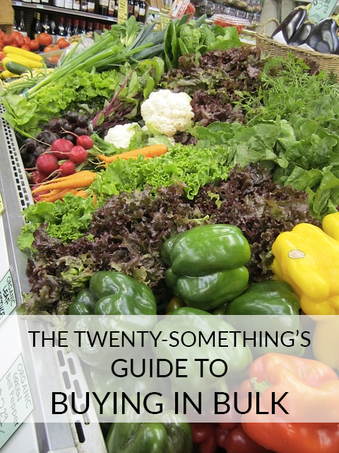 Bulk-buying habits are different for everyone, based on lifestyle (student, employed, newlywed, parent, etc.), family or household size and other factors. I've found that buying in bulk is a science, and that science differs from person to person.