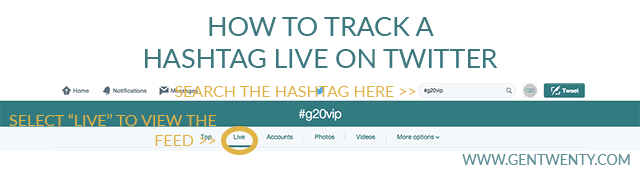 How to Track a Hashtag Live on Twitter (Great to Participate in Twitter Chats!)