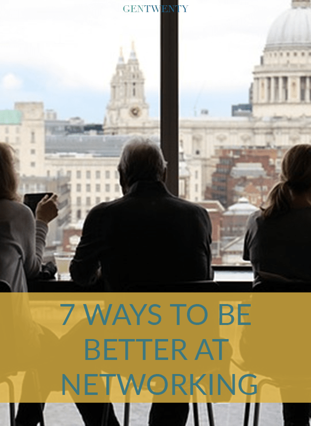 For those of us who get a little nervous when building professional relationships, here are 7 ways to be better at networking.