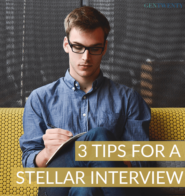 3 Killer Tips for a Stellar Interview