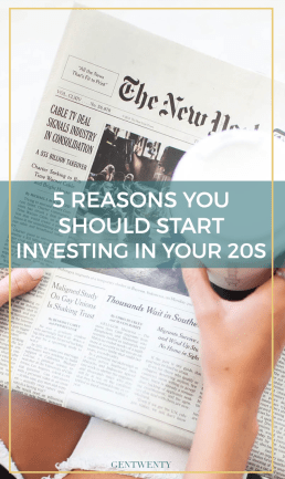 5 Reasons You Should Really Start Investing in Your 20s