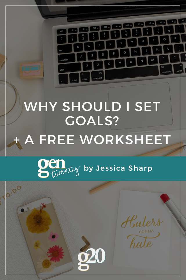 Everyone says you should have goals... but why? Click through to find out and get your free goal setting worksheet.
