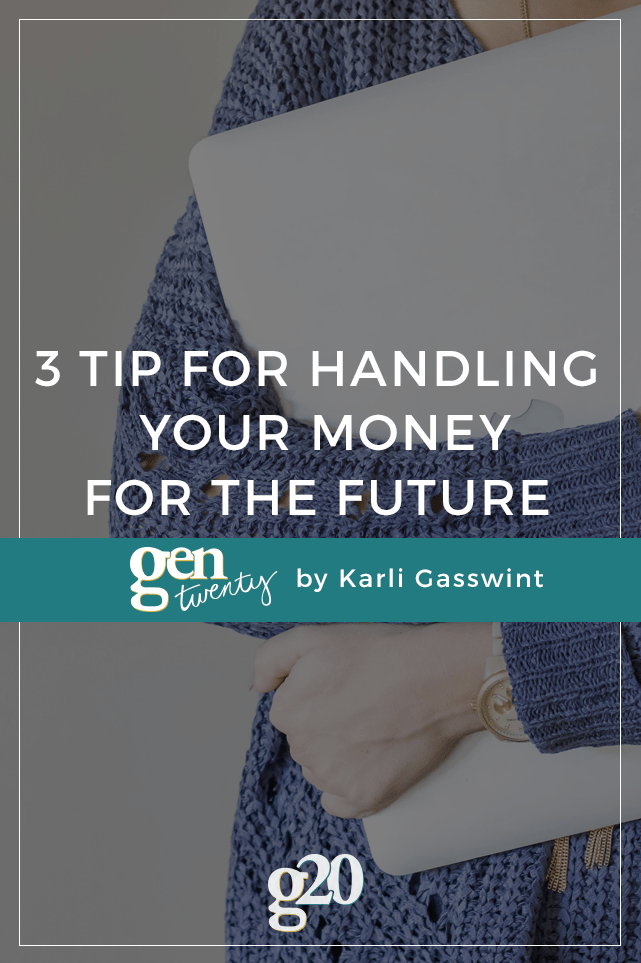 Are you intentional with how you handle your money for the future?  Live by these 3 tips to make it easier.