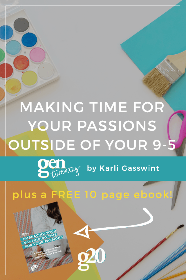 Making time for your passions outside of your 9-5 is NECESSARY for your happiness. Read through for 3 tips (plus a mini-book with 18+ tips on embracing your 5-9).