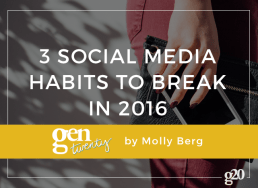 Social Media Habits To Break In 2016