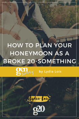 Honeymoon Planning for the Broke Twenty-Something (with 2 worksheets!)